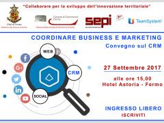 Coordinare Business e Marketing - convegno a Fermo