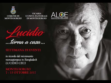 Settimana di eventi in ricordo di Lucidio Ceci a Montegiorgio