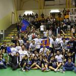 La M&G Videx Grottazzolina fa festa dopo la vittoria contro Emma Villas Siena