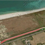 La nuova strada che verrà realizzata a Marina Palmense di Fermo