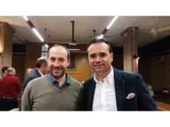 Paolo Calcinaro e Nicola Loira, sindaci di Fermo e Porto San Giorgio