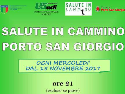 """""""Salute in cammino"""" a Porto San Giorgio"""