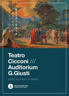 Teatro Cicconi Sant'Elpidio a Mare - stagione 2017/18 - locandina