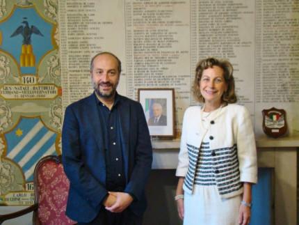 Paolo Calcinaro e Maria Luisa D'Alessandro