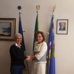 Moira Canigola e Maria Luisa D'Alessandro