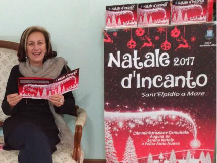 Stefania Torresi presenta il Natale d'incanto a Sant'Elpidio a Mare