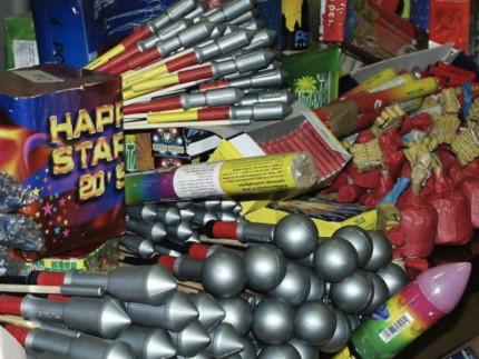 Fuochi d'artificio, botti di capodanno, fuochi pirotecnici
