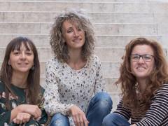 Silvia Alessandrini Calisti, Vissia Lucarelli e Lucia Paciaroni