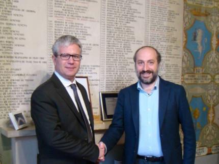 Filipp Stragapede e Paolo Calcinaro