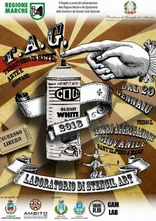 #T.A.G. - Territori in rete, Arte e Giovani - locandina