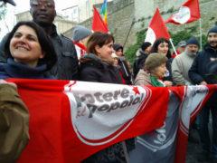 Potere al Popolo alla manifestazione antifascista e antirazzista di Macerata