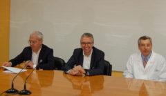 Carancini, Ceriscioli e Morgagni alL'inaugurazione del Laboratorio di elettrofisiologia cardiologica dell'ospedale di Macerata
