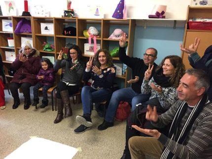 Delegazione iberica in visita alla scuola di Cascinare di Sant'Elpidio a Mare