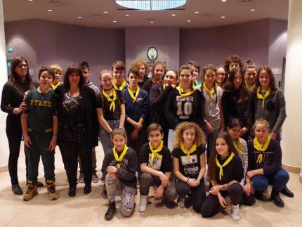 Studenti di Monterubbiano in visita alla Regione Marche