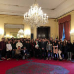 Sindaco e studenti di Sant'Elpidio a Mare a Praga