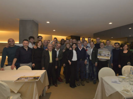 Cena di gala con gli sponsor per la M&G Videx Grottazzolina