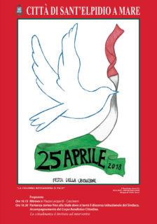 Celebrazioni 25 Aprile a Sant'Elpidio a Mare - locandina