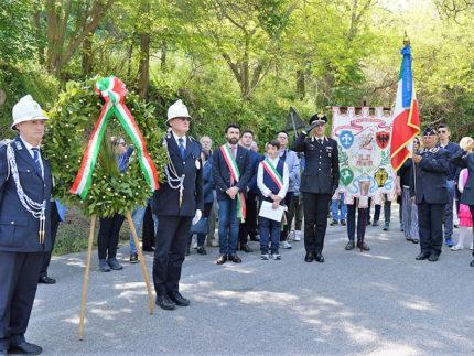 Celebrato a Cascinare di Sant'Elpidio a Mare il 25 Aprile, Festa della Liberazione