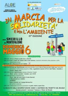 Marcia per la solidarietà e per l'ambiente 2018 - locandina