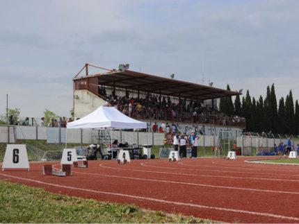 Atletica allo stadio Montevidoni di Sant'Elpidio a Mare