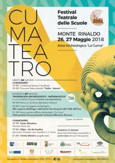 """Festival teatrale delle scuole """"Cumateatro"""" - locandina"""