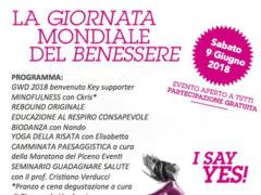Giornata Mondiale del Benessere - evento a Monteleone di Fermo