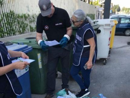 Controlli della Polizia Municipale per conferimenti impropri di rifiuti