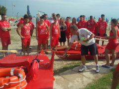Varo pattini per l'inizio della stagione estiva 2018 a Porto Sant'Elpidio