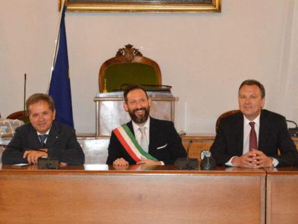 Presidente Camera di Commercio bielorussa in visita a Sant'Elpidio a Mare
