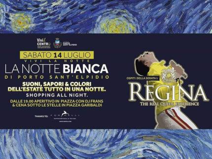 Notte bianca a Porto Sant'Elpidio sabato 14 luglio 2018