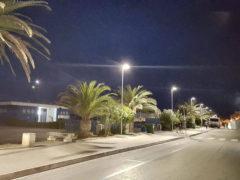 Nuova illuminazione a LED sul lungomare di Porto San Giorgio