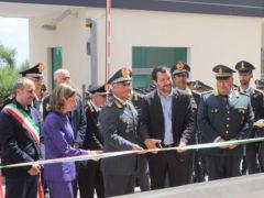 Taglio del nastro per il comando provinciale della GDF a Fermo