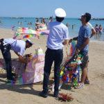 Commercio abusivo: sequestro merce a Porto San Giorgio