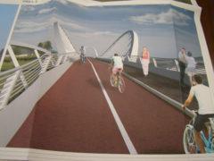 Progetto ponte ciclopedonale sul fiume Ete a Fermo