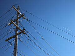 Un traliccio elettrico della rete Enel