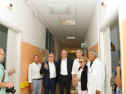 Nuovo impianto di climatizzazione all'ospedale di Recanati