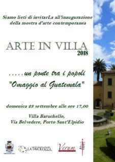 Arte in Villa a Porto Sant'Elpidio - locandina