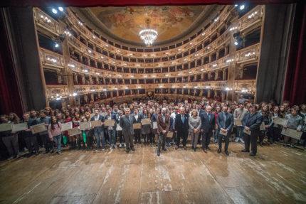 Pagella d'oro al Teatro dell'Aquila di Fermo