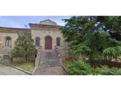 Facciata dell'ex Tirassegno a Fermo