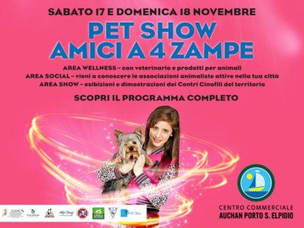 Il Pet Show al Centro Commerciale Auchan Porto Sant'Elpidio
