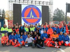 La protezione civile delle Marche all'esercitazione europea di Bucarest