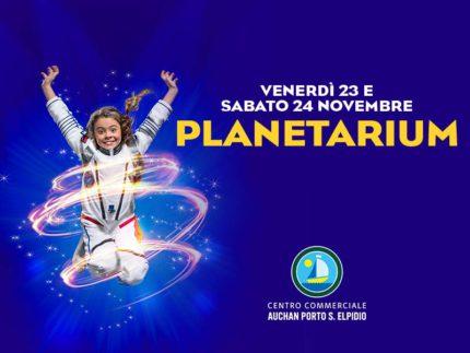 Planetarium al Centro Commerciale Auchan Porto Sant'Elpidio