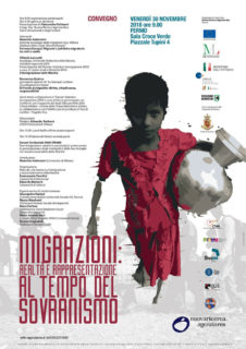 Convegno a Fermo su migrazioni - locandina