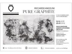 Pure Graphite - mostra di Riccardo Angelini a Moresco