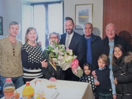 Leontina Offidani spegne 104 candeline: gli auguri del sindaco di Sant'Elpidio a Mare