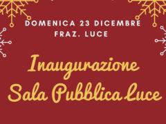 Inaugurazione sala pubblica quartiere Luce di Sant'Elpidio a Mare