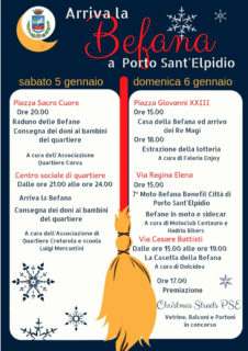 Arriva la Befana a Porto Sant'Elpidio - locandina