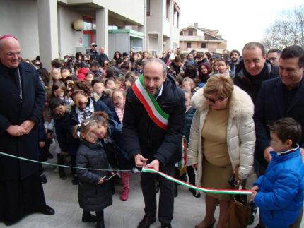 Inaugurazione scuola Salvano di Fermo