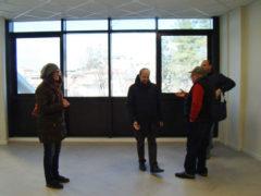 Sopralluogo nei locali di via Mario destinati alla scuola Betti di Fermo