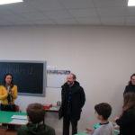 """Primo giorno di scuola nel nuovo edificio per la """"Betti"""" di Fermo"""